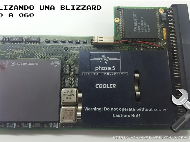 ACTUALIZANDO UNA BLIZZARD PPC DE 040 A 060