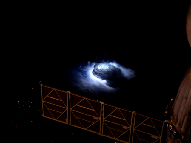 ISS Sees Thunderstorm Beaming Electromagnetic Pulse Into Space, Producing Gamma Rays and 'Elves'