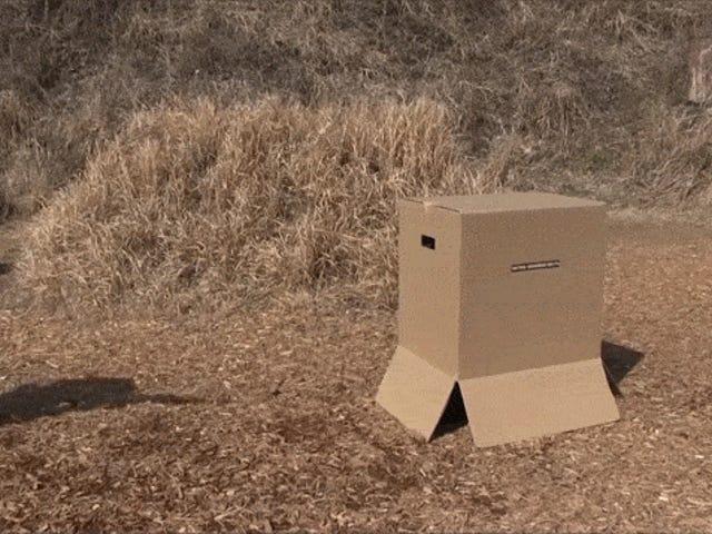 Airsoft <i>Metal Gear Solid</i> Karton Kutulu Kutular ile Çok Daha İyi