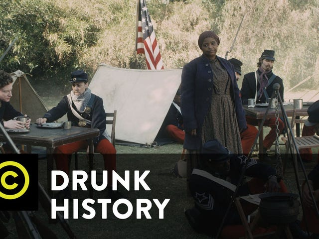 Watch <i>Drunk History </i>Take on Harriet Tubman--Starring Octavia Spencer
