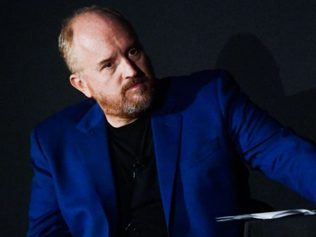 Louis C.K. Big Mad at School Shooting Victims and Non-Binary Folks in Leaked Audio