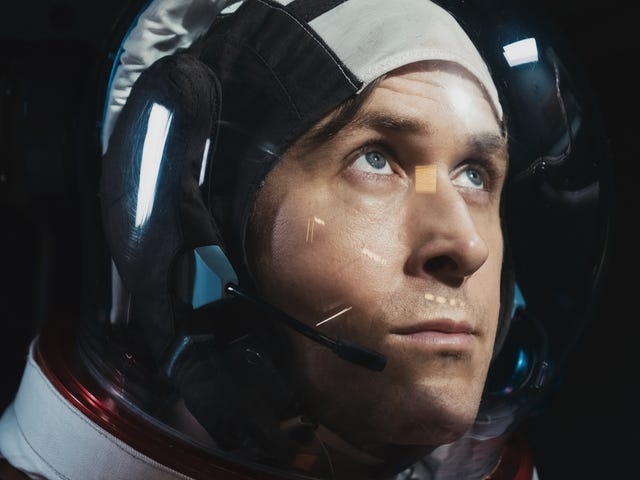 The star and director of La La Land reunite for First Man's spectacular trip to the moon