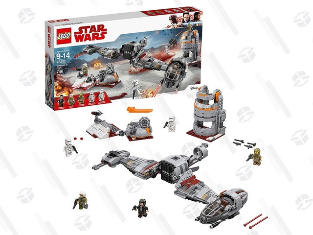 Relive The Battle of Crait for the Best Price Ever, Salt Not Included