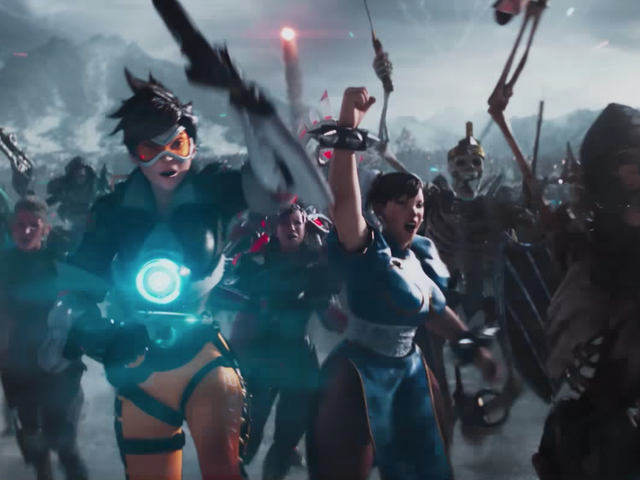 The New Ready Player One Trailer Is Filled With Video Game, Anime, And Comic Book Characters