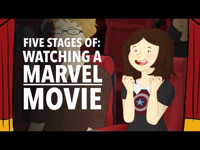 Bir Marvel Filmin İzlenmesinin Beş Aşaması
