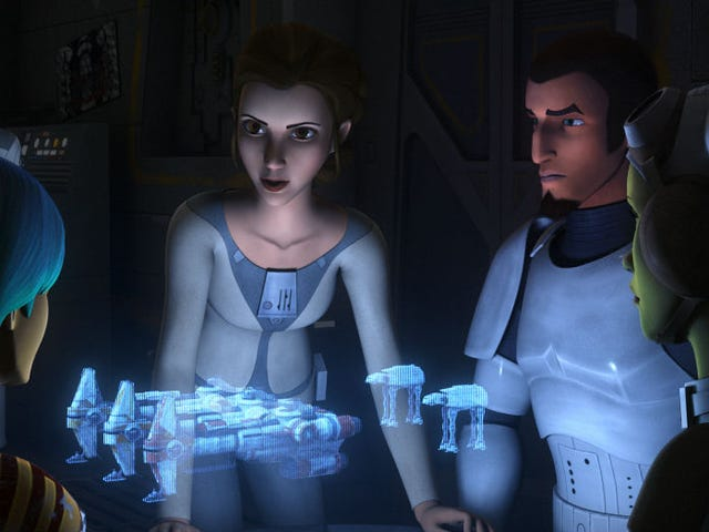 Princess Leia Appeared on <i>Star Wars Rebels</i>, Complete With Her Trademark Authority