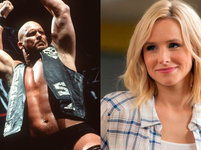 """Stone Cold Steve Austin thinks The Good Place's Eleanor is a """"legit snack"""""""