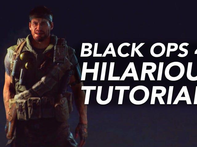 <i>Black Ops 4</i> : n jutustaja kertoo jotkut Wild Stuffit