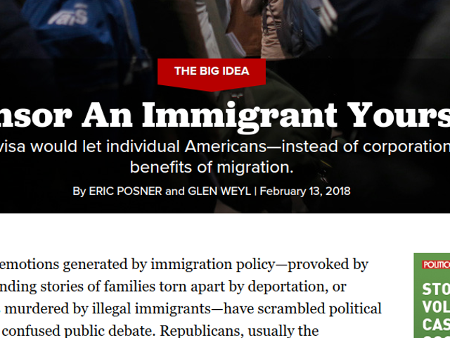 So ... Um ... I Think Politico Just Published an Argument for Slavery. In 2018 (Yes,That Slavery)