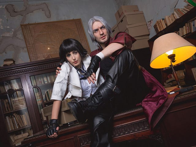 <i>Devil May Cry</i> Cosplay Gets A Little Romantic