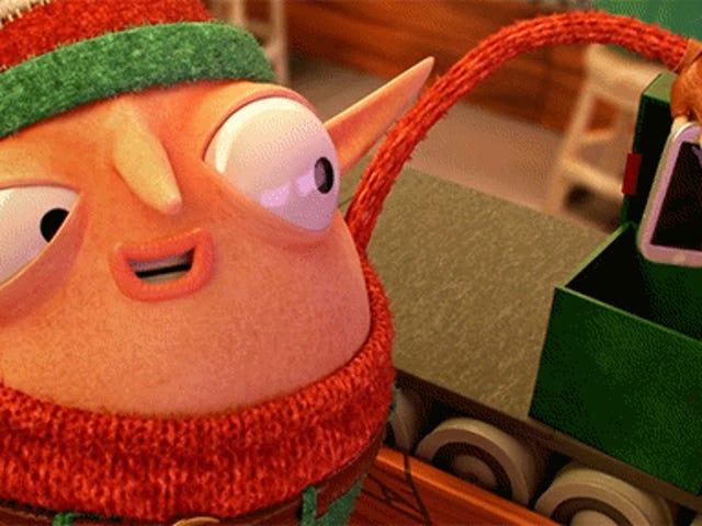 Silly Animation Skewers Ang aming Pagkahumaling sa Pagbili ng Higit na Bagay-bagay Sa panahon ng Pasko