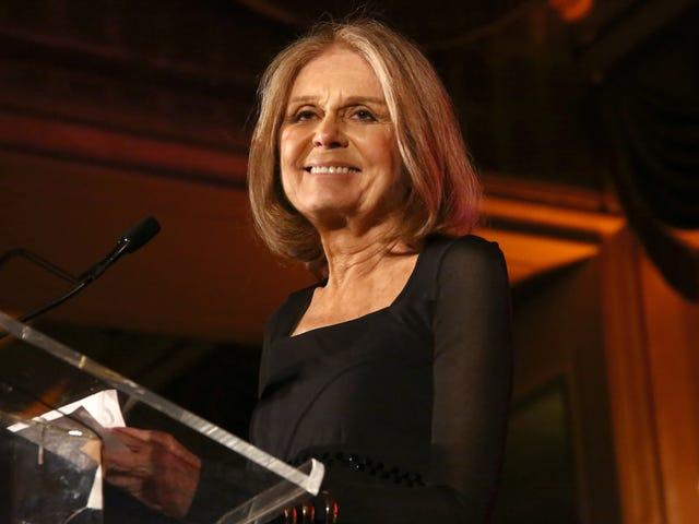 Præcis tre minutter med Gloria Steinem