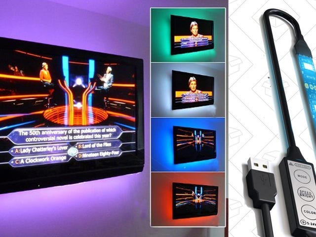 Add a Bias Light To Your TV For $12 or Less