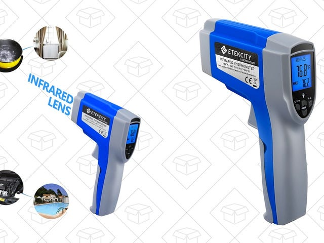 Take The World's Temperature With This $10 Infrared Thermometer