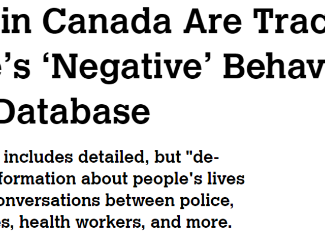 Canada Finally Doing Something to Combat Jukeposting