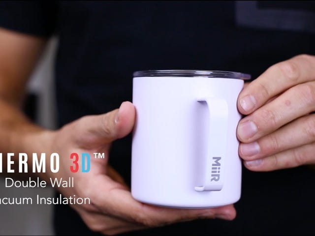 Start Every Morning With Miir's Camp Cup, Now Starting at $15 [Exclusive]