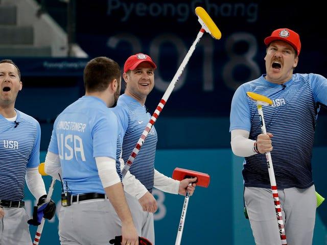 USA Humiliates Vile Canadians On Ice Again