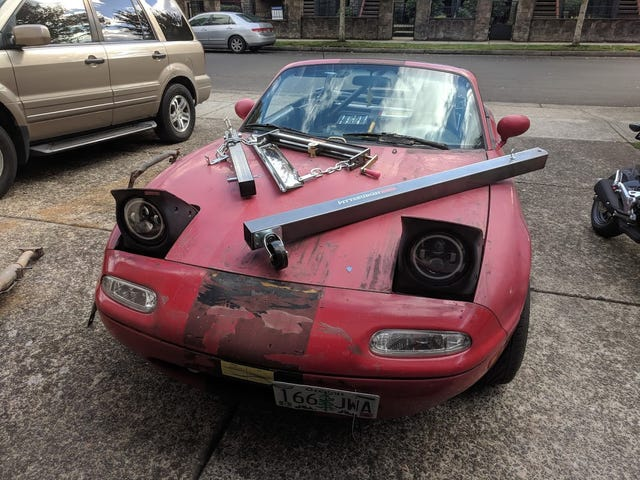 Further polishing the turd that is the $200 Miata