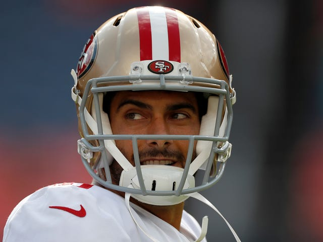 Jimmy Garoppolo's Return Was Pretty Miserable