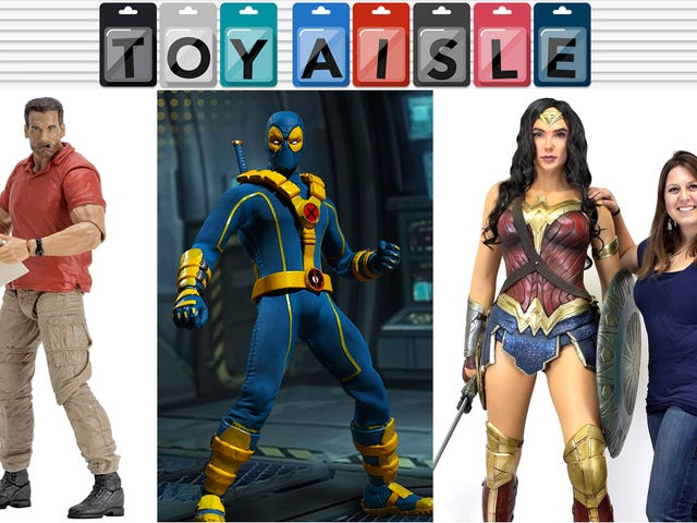 Casual Friday Schwarzenegger, X-Men Deadpool, and All the Best Toys of the Week