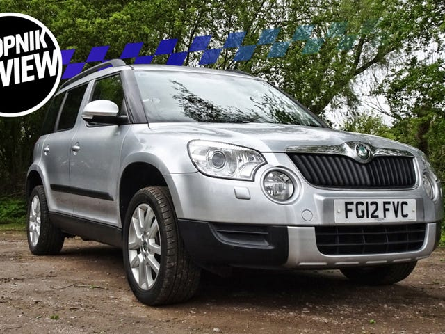 The Skoda Yeti Is Cheerful As Your Family Dog
