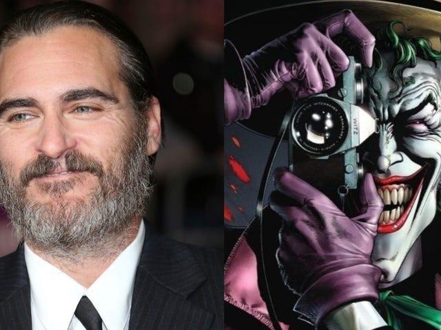 DC Comics trabaja en una pelicula sobre el originen del Joker protagonizada por Joaquin Phoenix