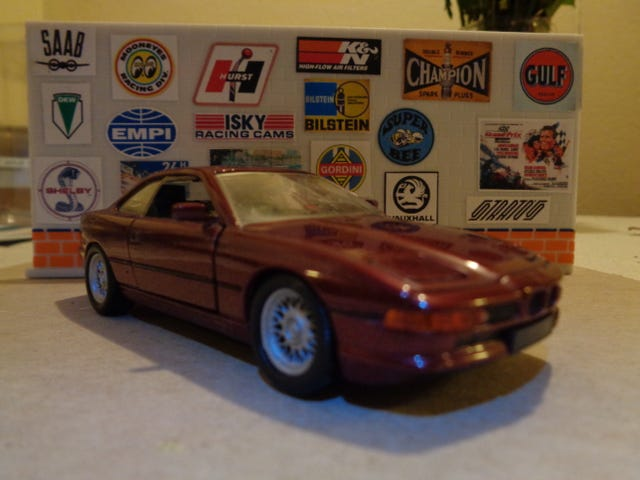 /// May BMW - 850i - 1:43 SCALE BY SCHABAK