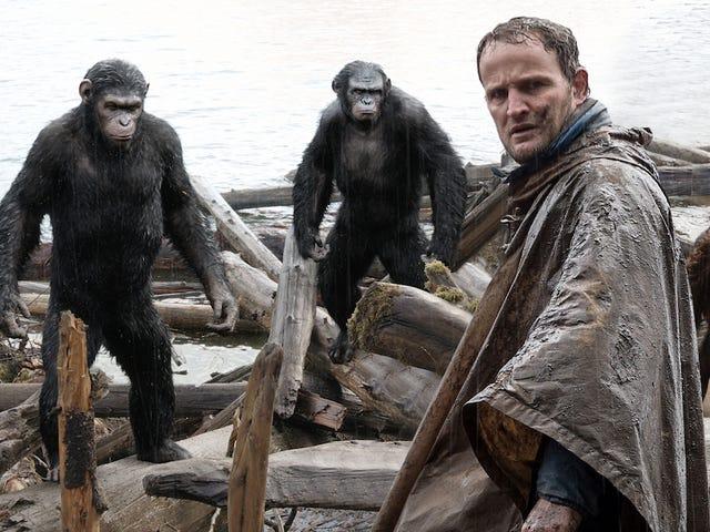 Una escena eliminada de War for the Planet of the Apes