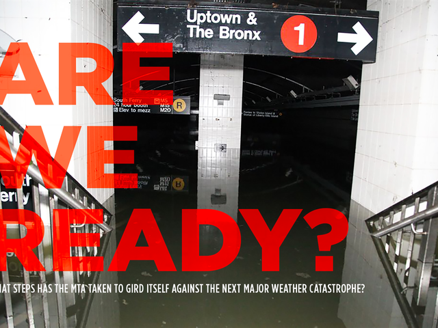 The NYC Subway Is Still Getting Ready for the Next Hurricane Sandy