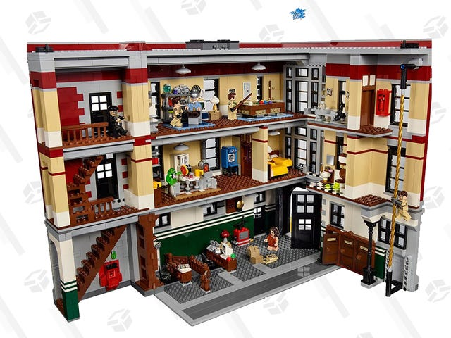 Are You the Keymaster? Even if You're Not, You Can Save $60 on the Huge LEGO Ghostbusters Firehouse Headquarters Set.