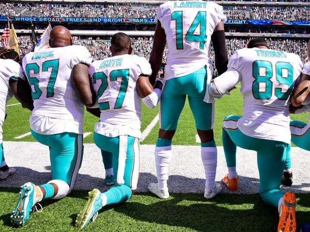The NFL Will Fine Players Who Protest During Anthem, Proving White Tears Matter More Than Black Lives