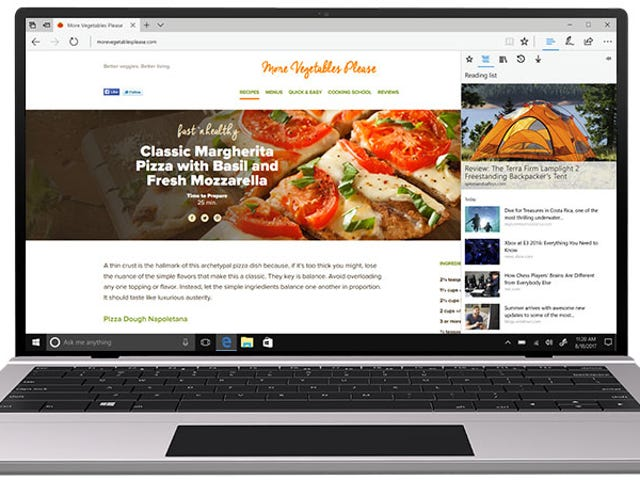 Microsoft's Edge Browser Could Soon Be Harder to Ignore in Windows 10