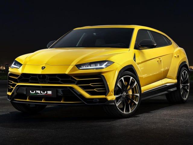 Lamborghini Urus låter som en Supercar Bör