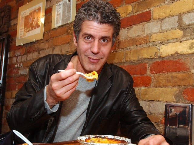 There's a feature-length Anthony Bourdain documentary in the works
