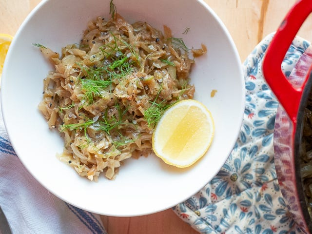 The Ultimate Winter Side Dish Is Smothered Cabbage