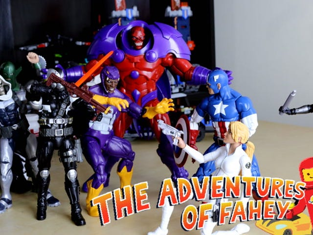 Toy Time With Marvel Legends' Red Skull Build-A-Figure Series