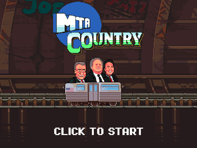 Play This Lo-Fi Video Game To Experience The Decrepit NYC Subway System
