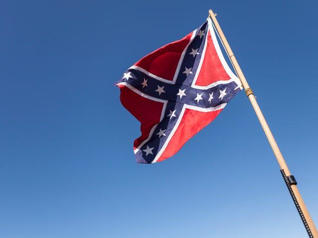 एक दक्षिण कैरोलिना महिला स्वेटर वह अपने संघीय झंडे को नीचे ले जाने से पहले मर जाएगी ... और फिर उसे दिल का दौरा पड़ा