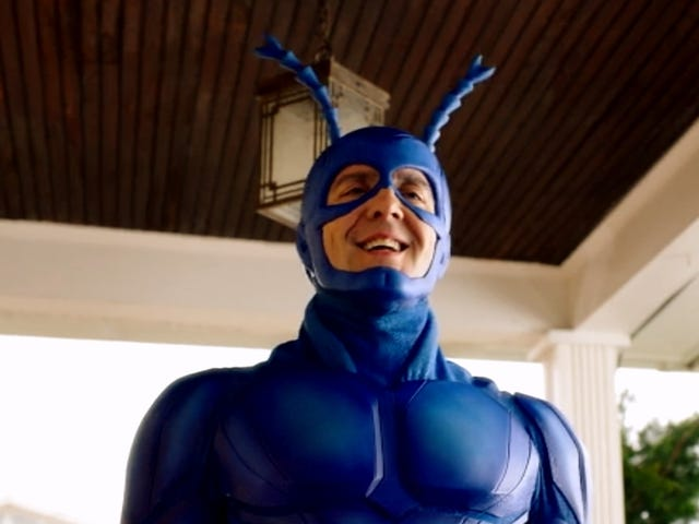 The Tick's Creators Split Up the New Season to Curb Binge Watching