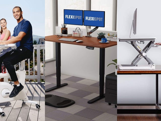Stay Active at Work With This One-Day FlexiSpot Sale