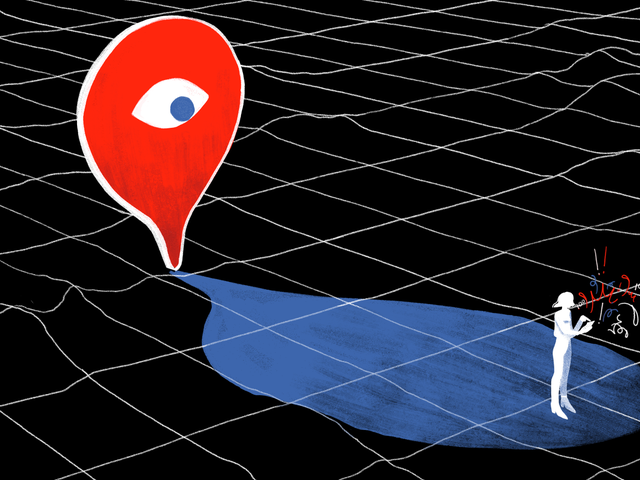 Att stänga av Facebook-spårning av plats stoppar inte den från att spåra din plats