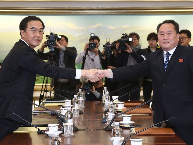 North Korea Strikes Deal To Send Athletes To Pyeongchang Olympics