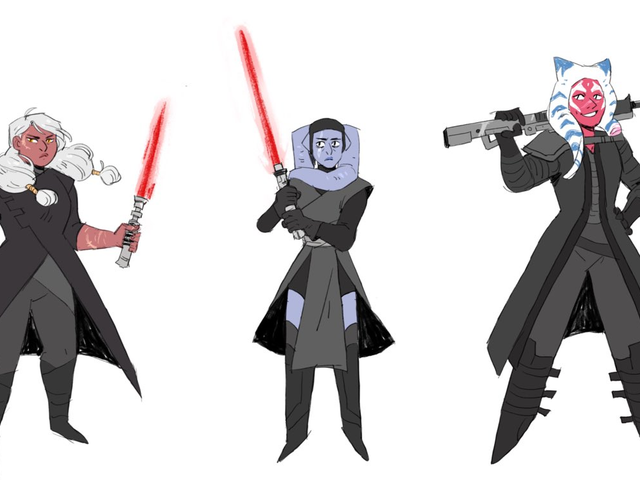 This Talented Artist Has Envisioned an All-Women Knights of Ren, and They Rule