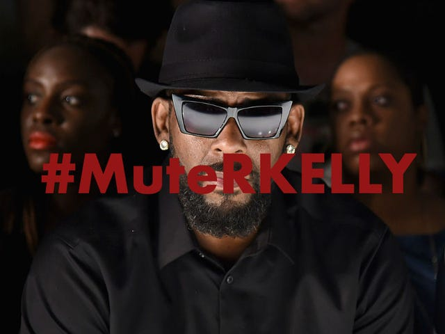 Women of Color Within Time's Up Join #MuteRKelly Protest