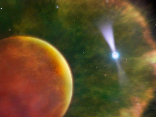 Scientists Observe 'Black Widow' Pulsar in Mind-Boggling Resolution