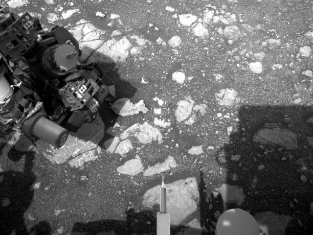 Rover ingin tahu kembali ke Operasi Sains Terbatas di Marikh