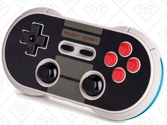 Obtenha sua nostalgia com um Gamepad 8Bitdo compatível com Switch, agora apenas US $ 35