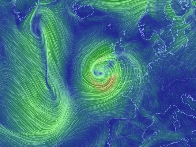 Why a Bizarre Ex-Hurricane Is Pounding Ireland