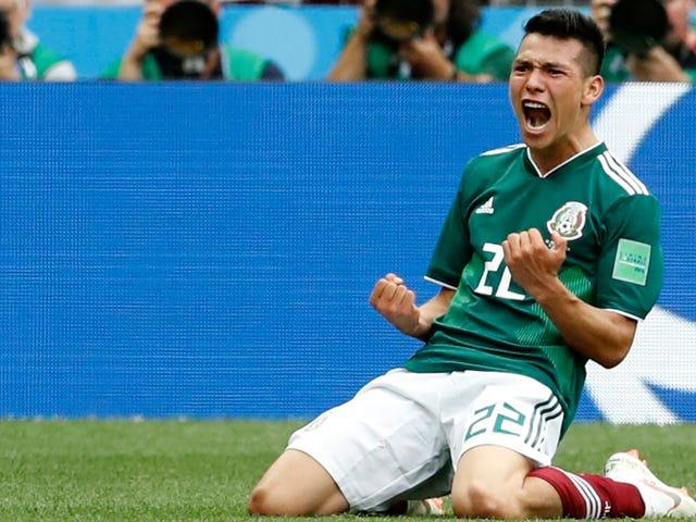 멕시코, 1982 년 독일 월드컵 첫 오프닝에서 패배