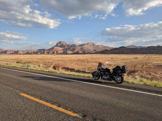 Motorcycle Road Trip, Day 6: Sandstorms in Nevada